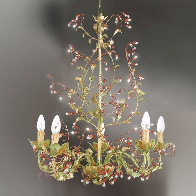 Lustre Viticcio d'inspiration florale - Lustres style florentin