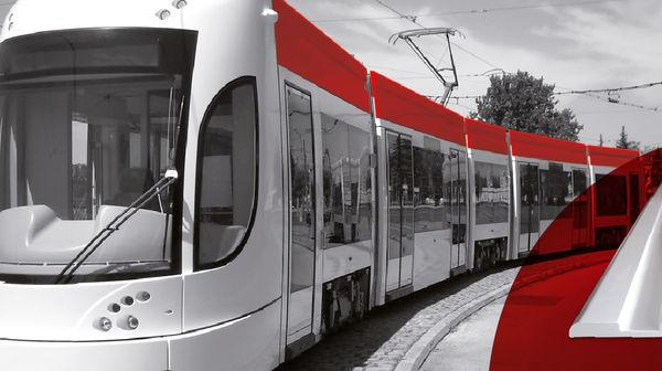 Roof-panel (frp) - Glassfibre Roof-Panel Flexity Tram Palermo