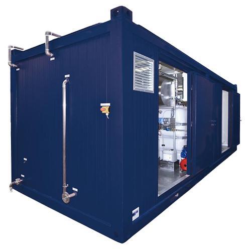 Mobile Dampferzeuger/Containerdampfanlagen - dampferzeuger