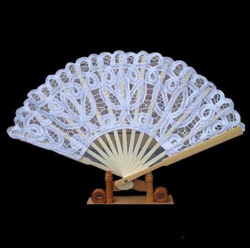 Western-style lace wedding fan - Craft fan