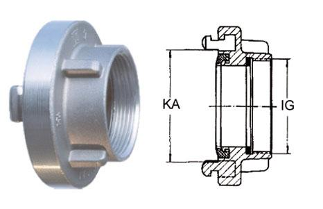 Storz couplings - Adapters with female thread