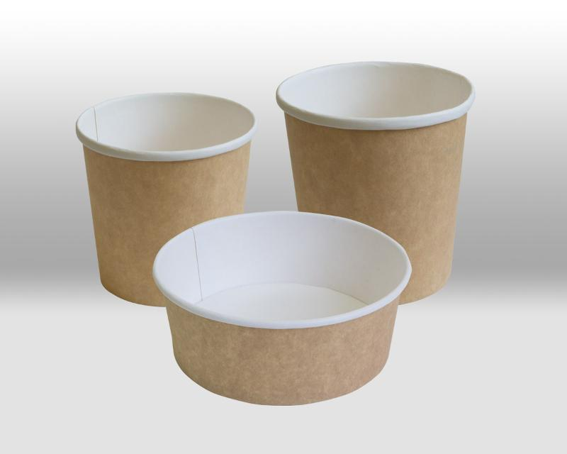 Kraft Paper Containers - PACKAGING FOR TAKEAWAY