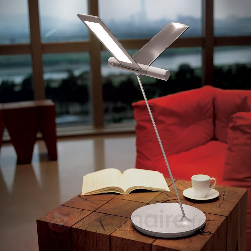 Lampe de table LED Seagull avec un design insolite - Lampes à poser LED