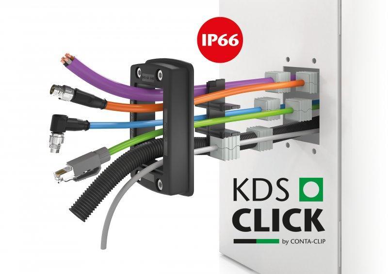 KDSClick - KDSClick, el sistema de paso de cables de CONTA-CLIP