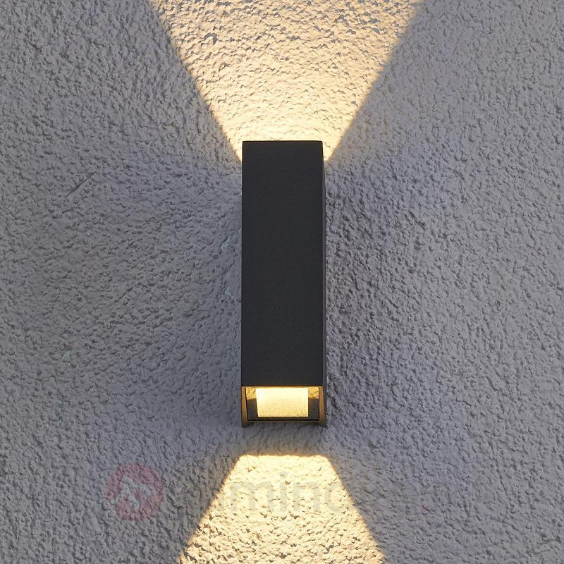 Applique d'extérieur LED Maisie en aluminium - Appliques d'extérieur LED