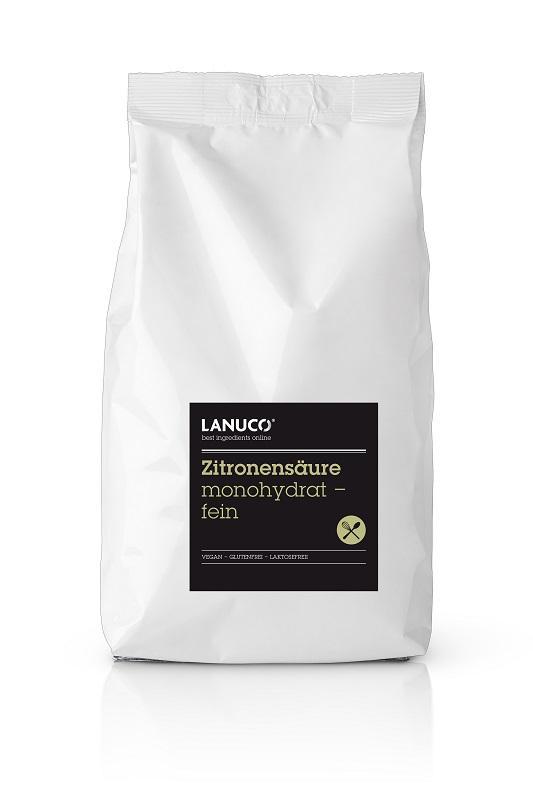 Zitronensäure monohydrat, fein - Reiniger, Lebensmittelqualität, Säuerungsmittel