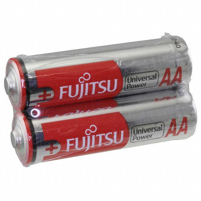 BATTERY ALKALINE 1.5V AA 2=2 - FDK America, Inc., a member of Fujitsu Group LR6 C (2S)