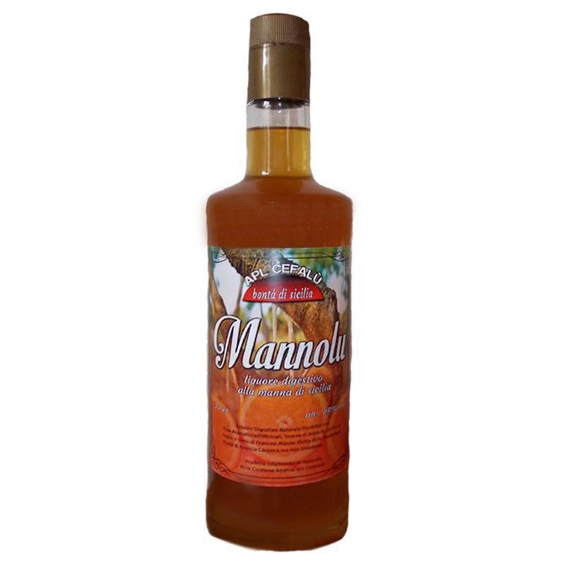 """MANNOLU"" Liquore Digestivo alla Manna & Arancia di Sicilia - APLCEFALU"