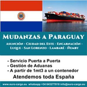 Mudanzas a Paraguay - Desde España