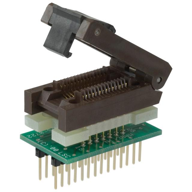 ADAPTER 28-SOIC TO 28-DIP - Logical Systems Inc. PA28SO1-08-3