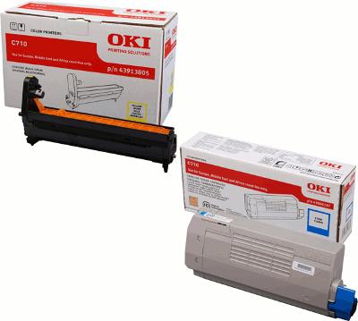 Toner und Zubehör für OKI Drucker und Multifunktionsgeräte