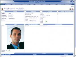 CASTEL ACCÈS - Contrôle d'accès IP (VDIP Evolution) - Logiciel de contrôle d'accès multiposte