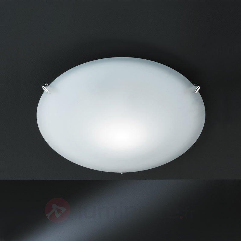 Plafonnier de verre ASSA II diamètre 43 cm - Plafonniers en verre