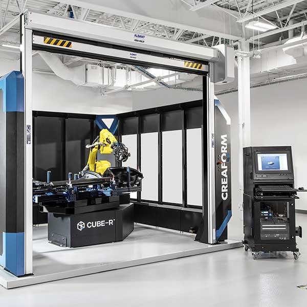 CMM de escaneo 3D: CUBE-R - La máquina más rápida de medición de coordenadas de escaneo 3D llave en mano