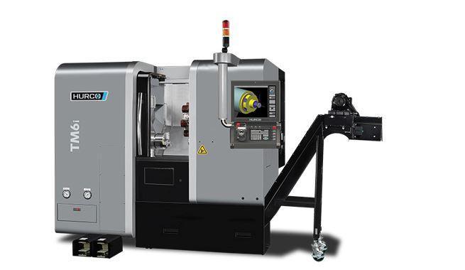 Drehmaschine - TM 6i - Die ideale Maschine für die Dreh-Bearbeitung mittelgroßer Teile