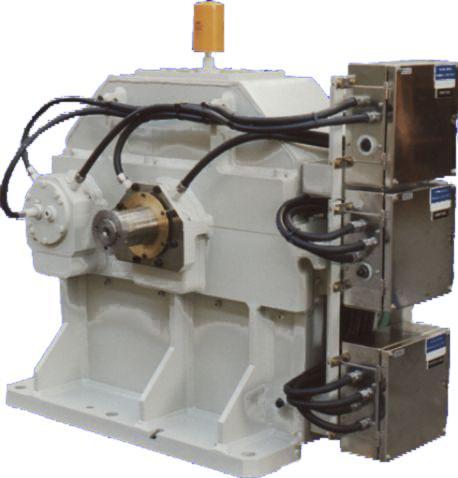 Turbo-multiplicateurs - Multiplicateur moteur électrique/ compresseur centrifuge 1200 kW à 15000 rpm