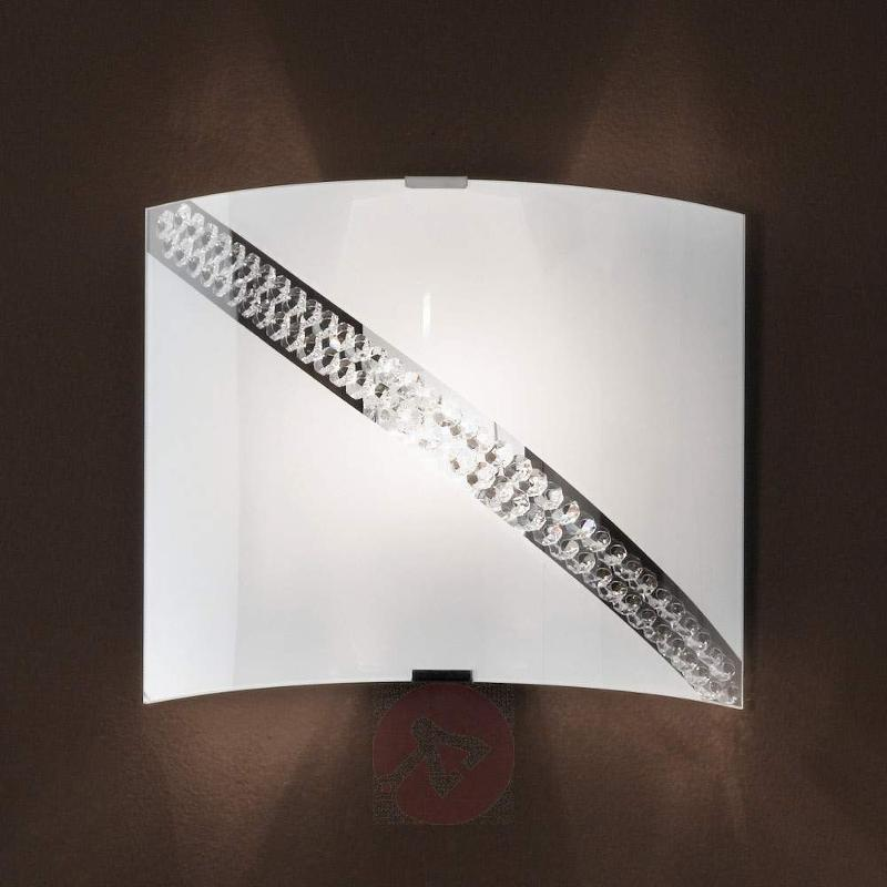 Juna Wall Light Pretty Set with Crystals - Wall Lights
