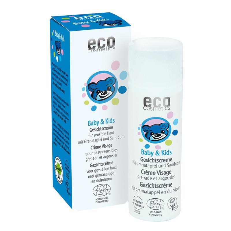 ECO Baby & Kids Gesichtscreme 50ml mit Granatapfel und... - null