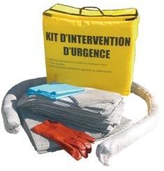 Kit Dintervention Tous Liquides Et Chimiques - 46 Litres - KTLC 46L-Kit absorbant tous liquides et chimiques
