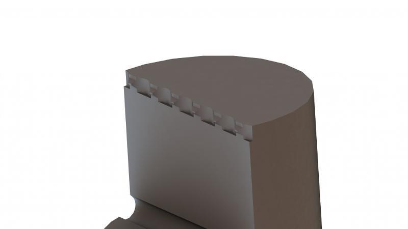 Spannbacke Flex mit Krallen - null