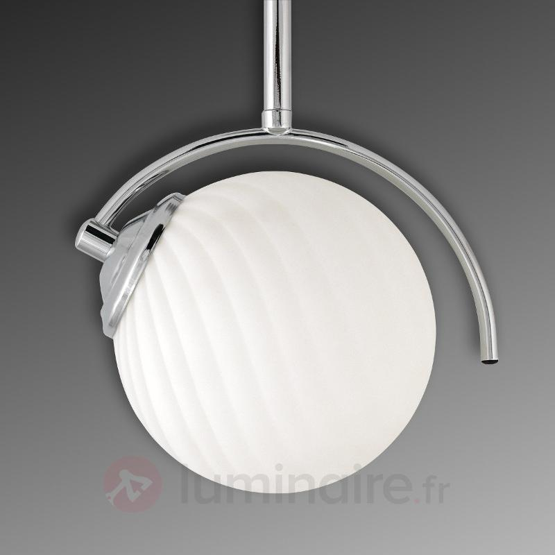 Incroyable lustre Galea, 1 lampe - Suspensions en verre