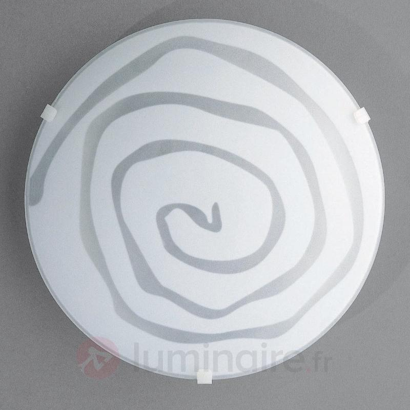 Applique originale CIRCLE - Plafonniers en verre