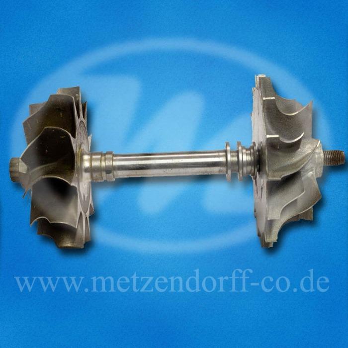 Laufzeug, Turbolader - für DEUTZ 816, DEUTZ: 0130 7065, KKK: 5252 710 1100