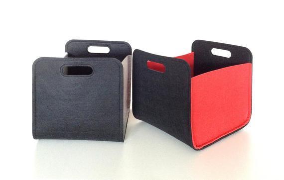 Felt Storage Basket, Wholesale Custom Design for Office Home - Felt Manufacturer, Box, Bin, Storage for Toys Offices Custom Colour