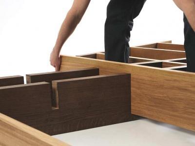 etagere autoportante onlywood design contemporain pour particulier ideasign belgique. Black Bedroom Furniture Sets. Home Design Ideas
