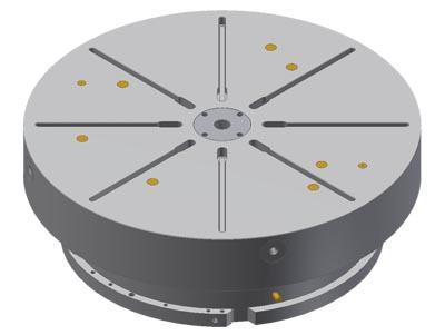 NC torque rotary table - null