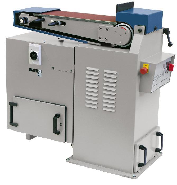 B200/150 Flat platen belt grinding machine - Heavy duty flat platen belt grinding machine