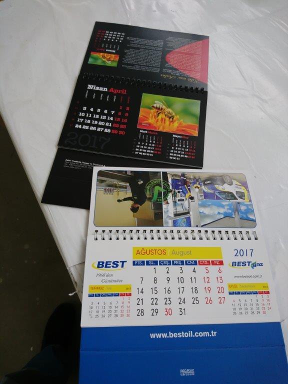 Ημερολόγια, περιοδικά, καταλόγους και φυλλάδια