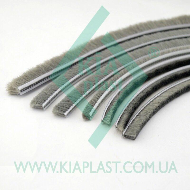 Pile Weatherstrip - Pile Weatherstrip, dustproof and buffer brush - 4,8x4-3Р without glue