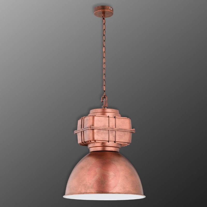 Copper-coloured Maniac pendant light - Pendant Lighting