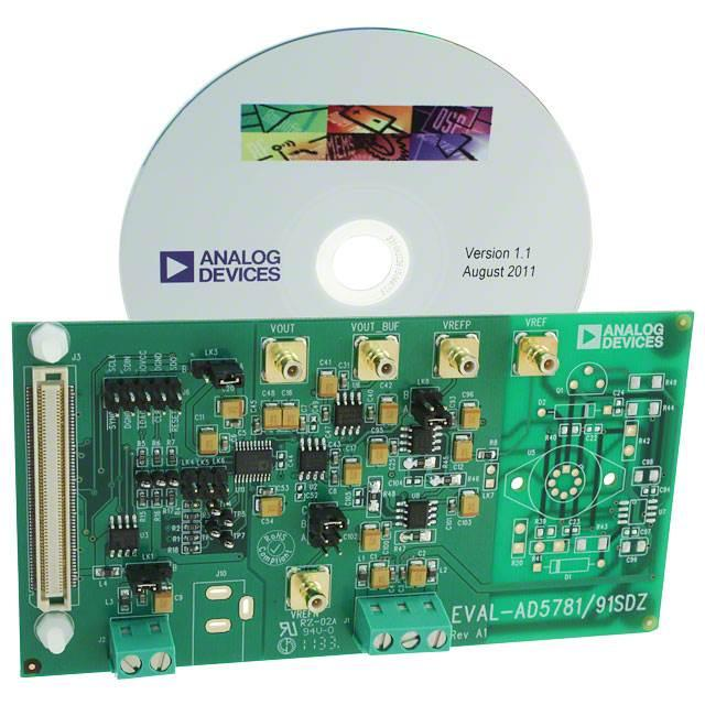 BOARD EVAL FOR AD5791 - Analog Devices Inc. EVAL-AD5791SDZ