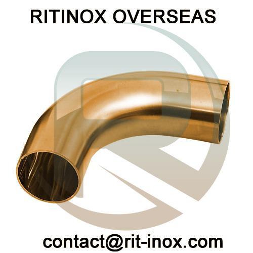Brass Long Radium Elbow -