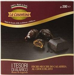 Fichi Secchi di Calabria - I Tesori di Alarico al Cioccolato gr.200