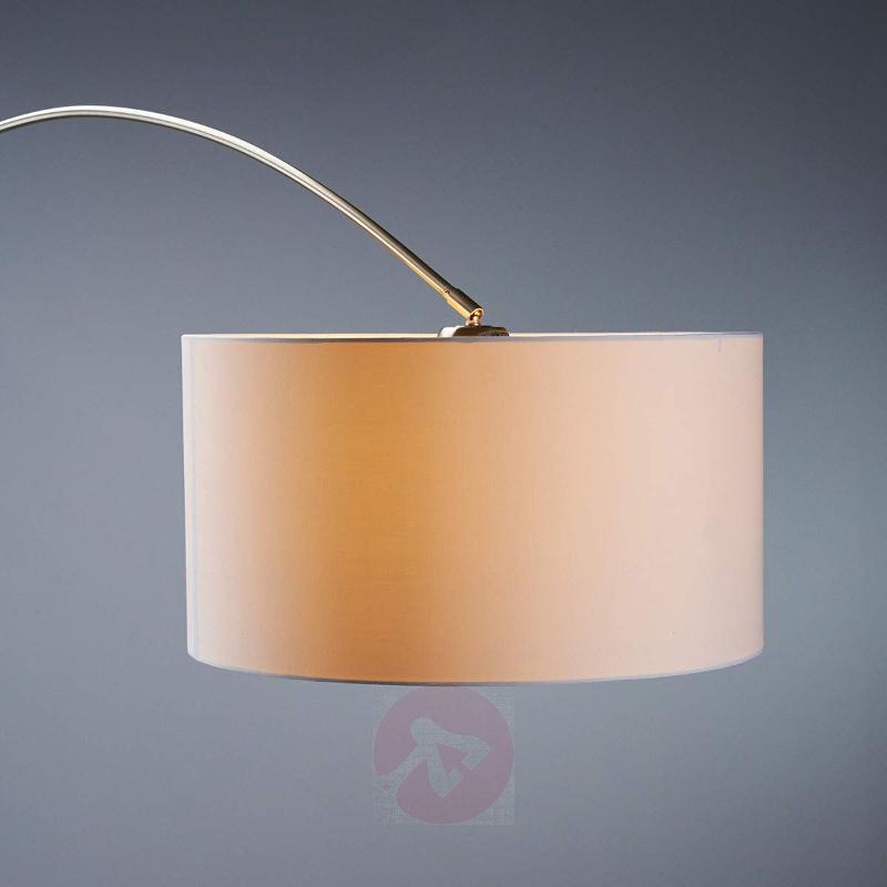 Alia fabric floor lamp with an LED lamp - Floor Lamps