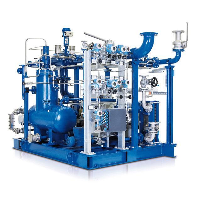 AERZEN Biogas Aggregat VMX mit Öleinspritzung