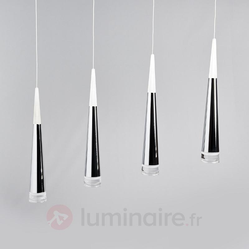Suspension LED à quatre lampes Janne - Toutes les suspensions