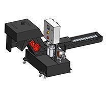 High-pressure system and chip conveyor - combistream CS2