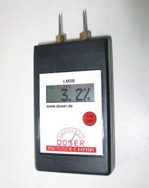 Papierfeuchte - Messgerät
