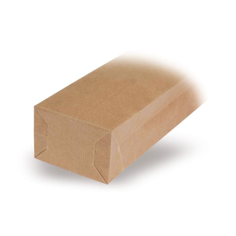 Blockbodenbeutel Natron Natur - Blockbodenbeutel Natron Natur