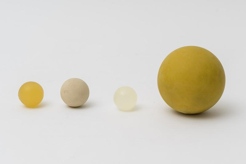 Screen cleaning balls in EDPM - Balls created for the continuous cleaning of sieves without interruptions