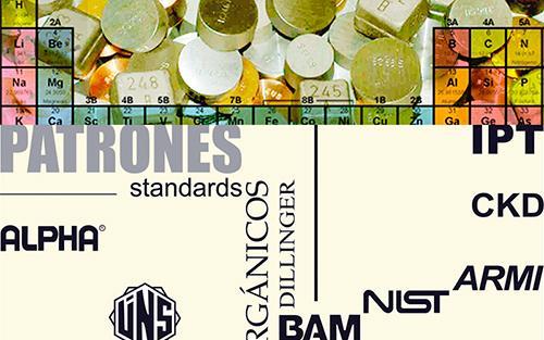 Materiales de Referencia Certificados / Patrones / Standards - Materiales de Laboratorio