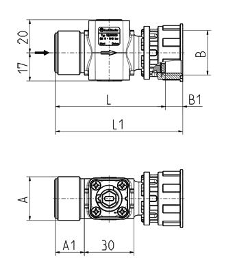 Shut-off valve - 52.009.100