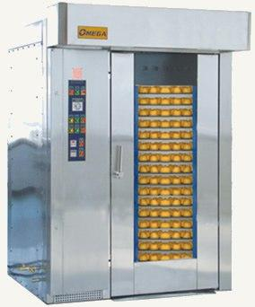 Ротационная печь Omega R6080 - Ротационная печь с вращающейся платформой будет незаменимым помощником на Вашем