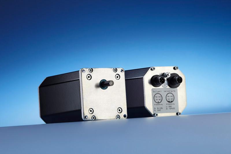 Positionierantrieb PSE 272 - Positioniersystem mit analoger Sollwertvorgabe im robusten Aluminiumgehäuse