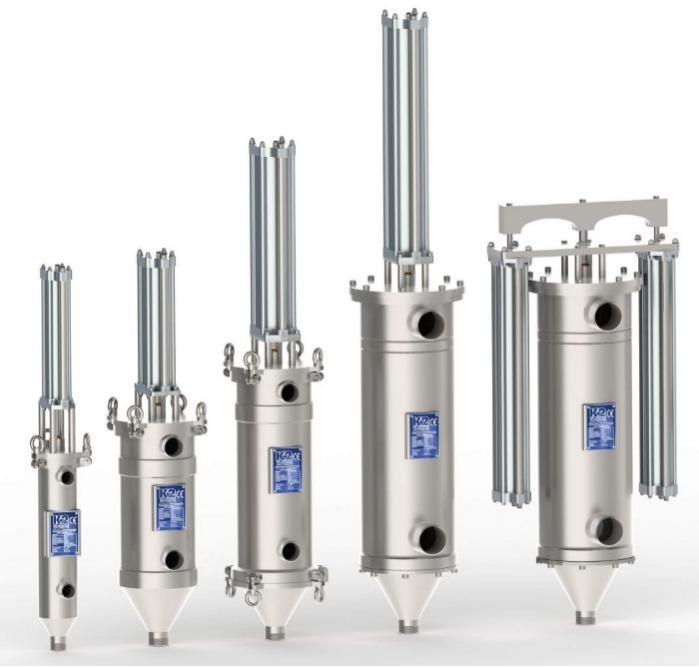 Filtre autonettoyant automatique PLM - Filtre autonettoyant automatique à racleur pour produits visqueux