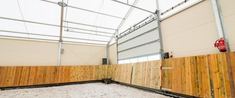 Porte sectionnelle - Accessoires Tentes de Réceptions Alu